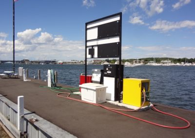 19 - Gas Pumps on Dock
